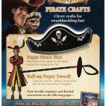 Disney Pirate Fairy Printable Crafts – Pirate Hat & Sword
