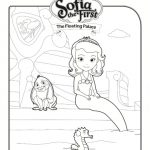 Sofia: The Floating Palace Coloring Page
