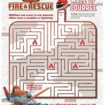 Disney Planes: Fire & Rescue Printable Maze