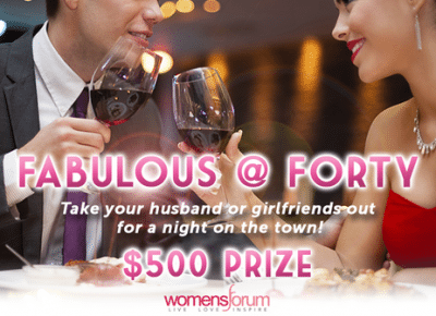Fabulous at Forty $500 Sweepstakes – EXPIRED
