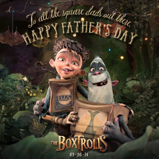 The Boxtrolls Printable Father's Day Card