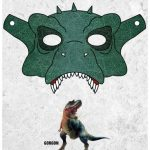 Printable Gorgon Dinosaur Mask Craft