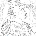Rio 2 Printable Coloring Sheet