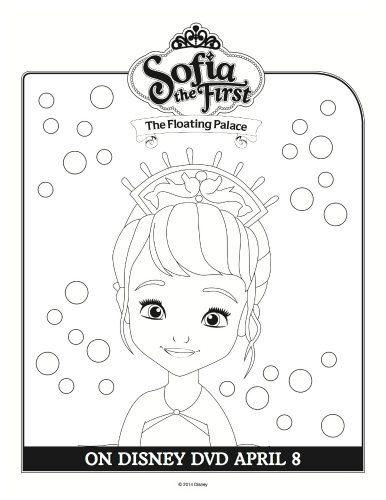 Disney Sofia the First Coloring Sheet | Mama Likes This