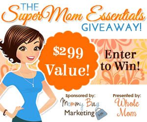 SuperMom Essentials Sweepstakes – EXPIRED