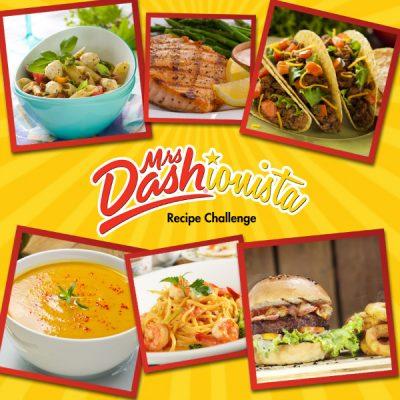 Mrs. Dash Dashionista Recipe Challenge