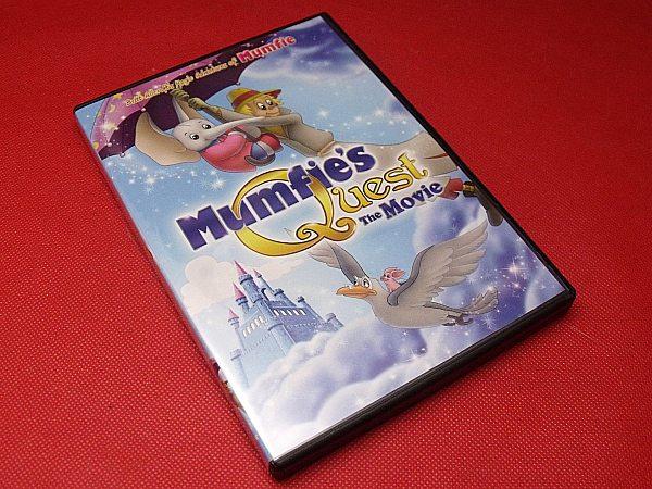 Mumfie's Quest: The Movie DVD