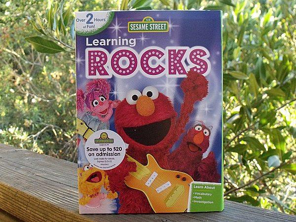 Sesame Street: Learning Rocks DVD
