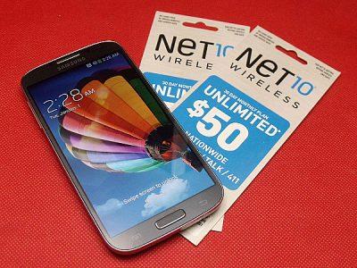 Samsung Galaxy S4 from Net10 Wireless