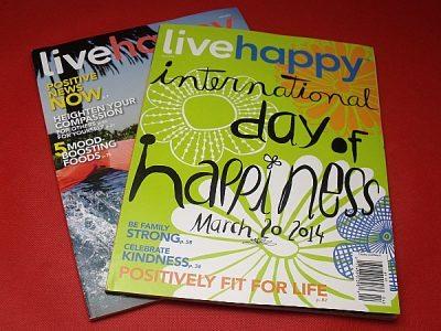 Live Happy Magazine Subscription