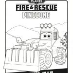 Disney Planes: Fire & Rescue Printable Coloring Sheet – Pinecone