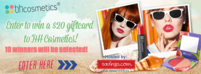 BH Cosmetics Gift Card Giveaway – EXPIRED