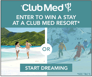 ClubMed Vacation Sweepstakes – EXPIRED