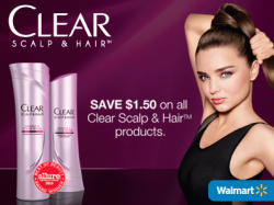 Clear Scalp and Hair Products Printable $1.50 Off Coupon