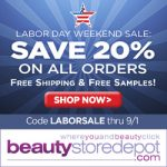 Coupon Code – Beauty Store Depot 20% Off Sitewide