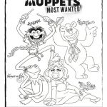 Muppets Most Wanted Coloring Page
