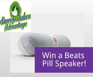 Beats Pill Portable Speaker Sweepstakes – EXPIRED