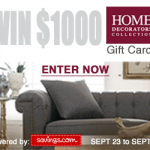 Home Decorators Collection $50 Gift Card Giveaway – EXPIRED