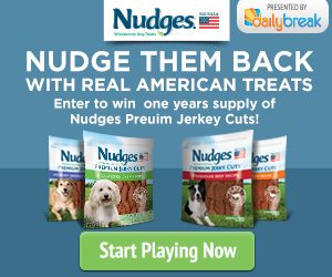 Nudges Real American Dog Treats Sweepstakes – EXPIRED