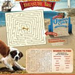 Beethoven's Treasure Tail Printable Activity Page