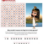 Free Printable Mr. Peabody & Sherman Crack the Code Puzzle