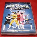 Power Rangers in Space DVD