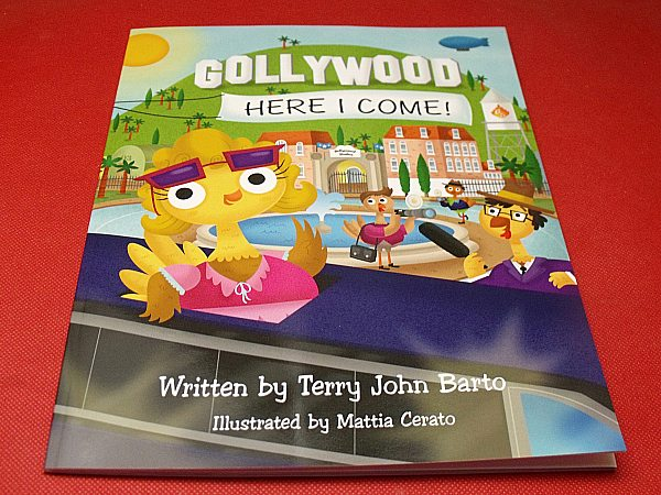 Gollywood, Here I Come! Children's Book