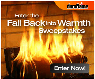 Duraflame Fall Back into Warmth Sweepstakes – EXPIRED