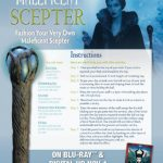 Free Disney Maleficent Scepter Printable Craft Instructions