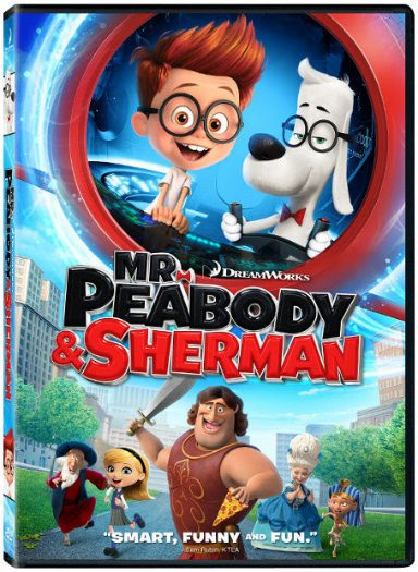 Mr. Peabody and Sherman DVD