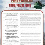 Free Printable Disney Planes Fire and Rescue True False Quiz