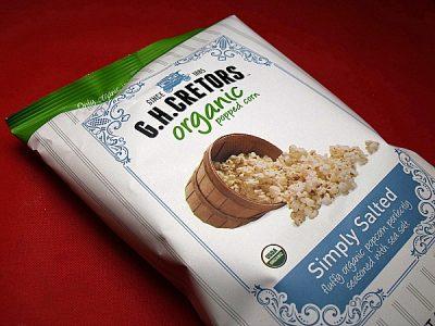 GH Cretors Organic Popcorn
