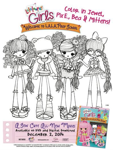 lalaloopsy coloring pages facebook likes - photo#9