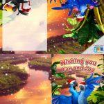 Free Rio 2 Printable Holiday Card