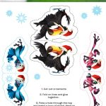 Free Printable Craft – Rio 2 Holiday Ornaments