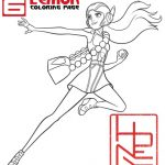 Free Printable Big Hero 6 Coloring Page