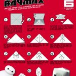 Disney Big Hero 6 Printable Origami Craft