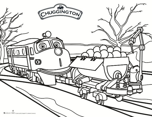 Chuggington Coloring Pages Pdf : Free printable chuggington coloring page mama likes this