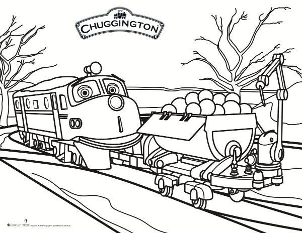 free printable chuggington coloring page  mama likes this