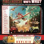 Free Disney Planes Fire & Rescue Activity Page