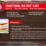Big Red Cake Recipe