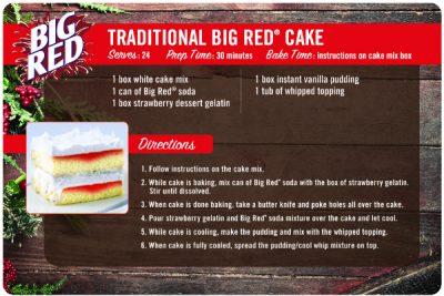 Big Red Cake Recipe