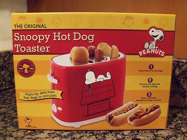 Snoopy Hot Dog Toaster