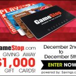 $50 GameStop Gift Card Giveaway – EXPIRED