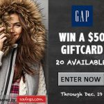 $50 Gap Gift Card Giveaway – EXPIRED