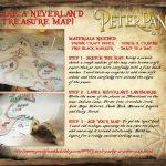 Peter Pan Live Neverland Treasure Map Craft