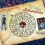 Free Peter Pan Live Printable Maze Activity Sheet