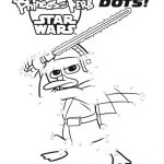 Free Printable Disney Phineas and Ferb Star Wars Connect the Dots