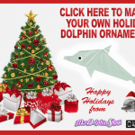 My Dolphin Show Origami Christmas Tree Ornament Craft