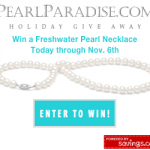 Freshwater Pearl Necklace Giveaway – EXPIRED
